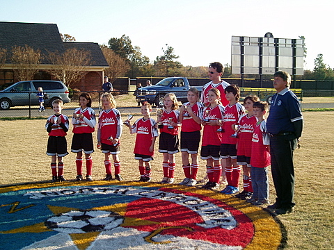 The MYSA U10 Storm - 2006 Rec Cup Finalists