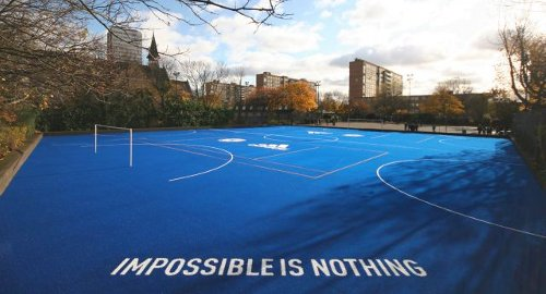 Battersea Tech Park after Chelsea and Adidas got done with it